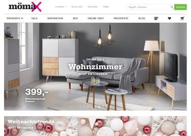 Spare beim Möbelkauf mit einem mömax-Gutscheincode
