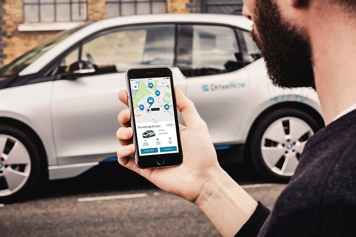 auch Mini und BMW gehören zur Flotte von DriveNow