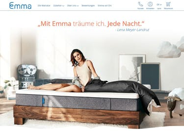 Emma Matratze: Träume made in Germany