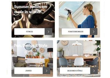 Eine große Produktvielfalt gibt es im Onlineshop von fonQ