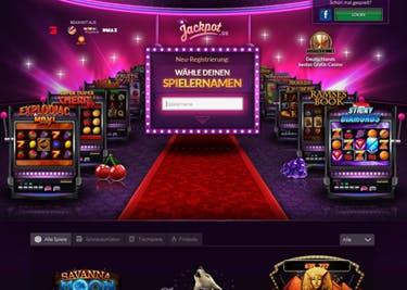 Casino- und Jackpot-Games zockt ihr bei Jackpot.de