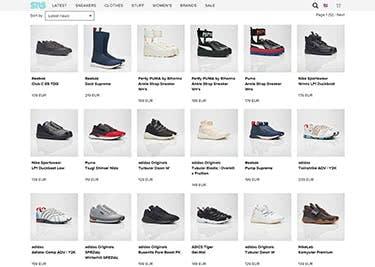 Sneakersnstuff Onlineshop