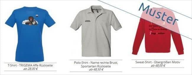 T-Shirt-Designer: Gestalte dein Trigema-Shirt selbst!