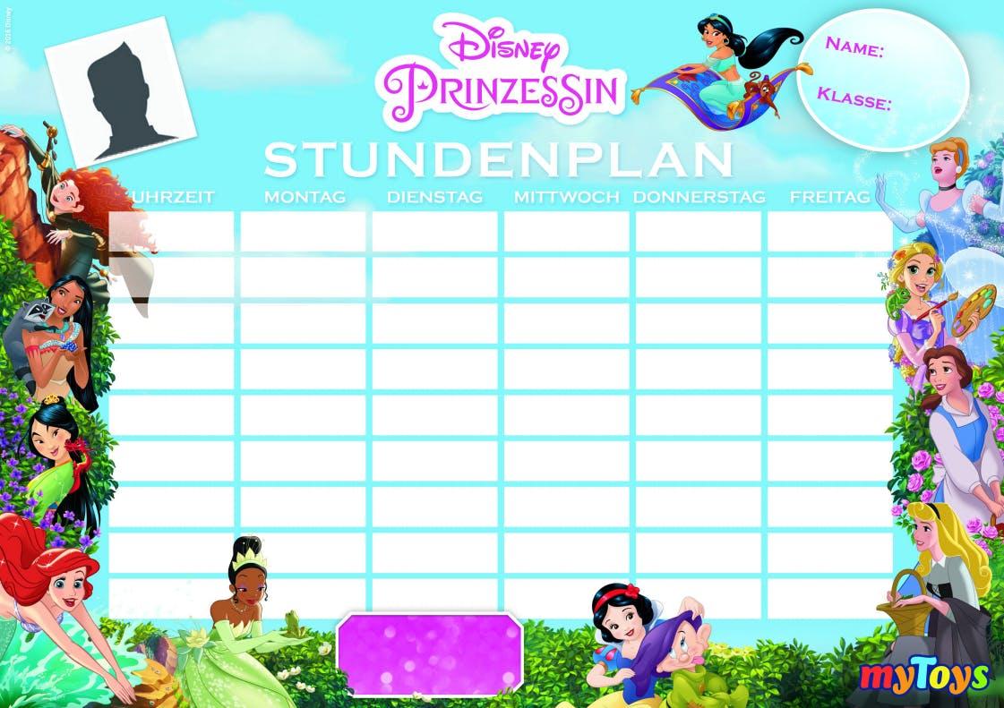 Kostenloser Stundenplan Disney Prinzessin