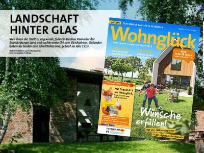 GRATIS Zeitschrift Wohnglueck