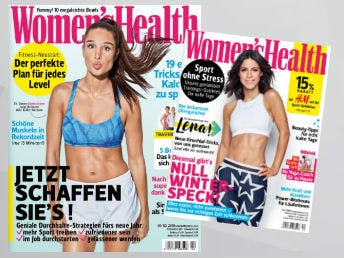 GRATIS Zeitschrift Womens Health