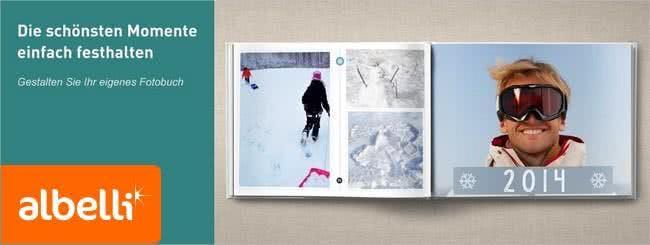 Bei Albelli lasst ihr eure schönsten Fotos auf Leinwand, Kalender und vieles mehr drucken