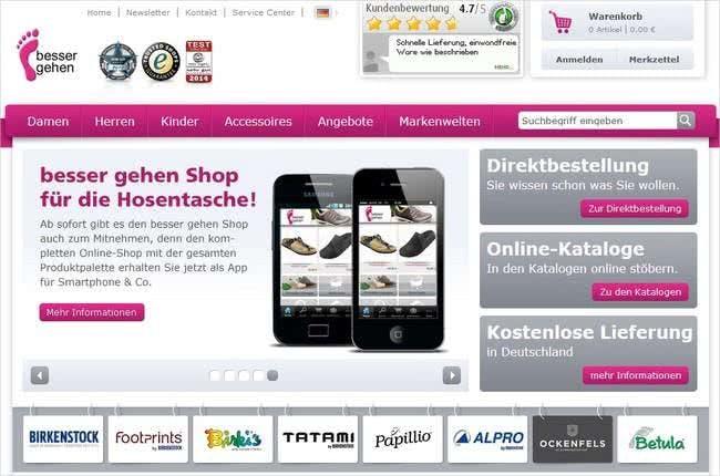 Im Bessergehen.com-Online-Shop begegnet euch eine Vielzahl an Schuh-Marken.
