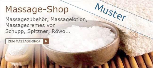Massage-Shop bei BIRKE-Wellness