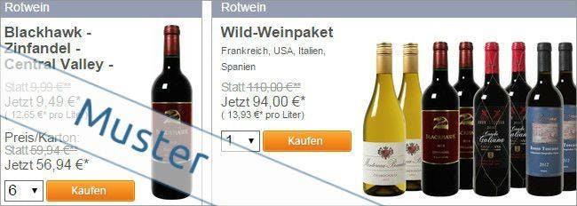 Rotwein bei Der Weinversand bestellen
