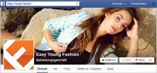 Easy Young Fashion bei Facebook