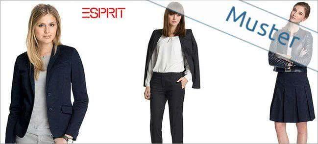 Auch eine große Auswahl an Damenkleidung wartet bei Esprit auf dich.