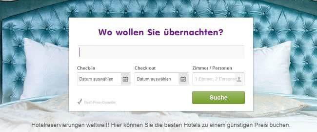 Auch Hotels bucht ihr mit einem Flugladen.de-Gutschein günstiger