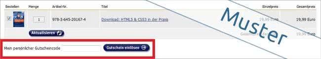 Gutscheincode bei Franzis.de einlösen und sparen