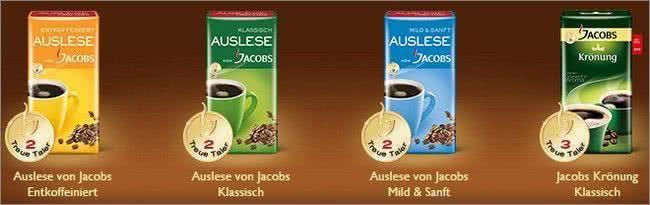 Diese Produkte von Jacobs nehmen beispielsweise am Treueprogramm teil