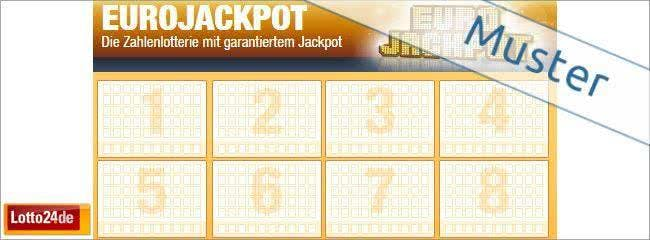 Versucht euer Glück beim EuroJackpot