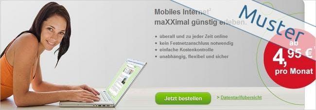 Günstig surfen mit Internet Flatrates von maXXim