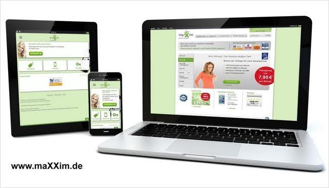 Holt euch die maXXim-Servicewelt als mobile App