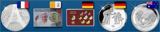 Münzen aus aller Welt bei MDM kaufen