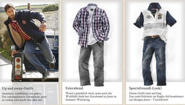 Im Jan Vanderstorm Online-Shop bekommst du zahlreiche Outfit-Vorschlaege