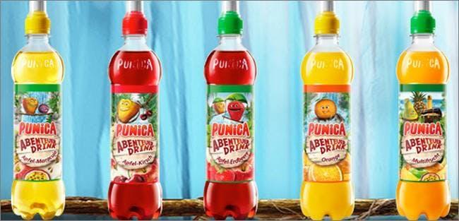 Fruchtig und spritzig geht es bei Punica zu.