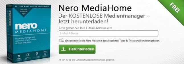 Mit einem Nero-Gutschein Programme günstiger erhalten