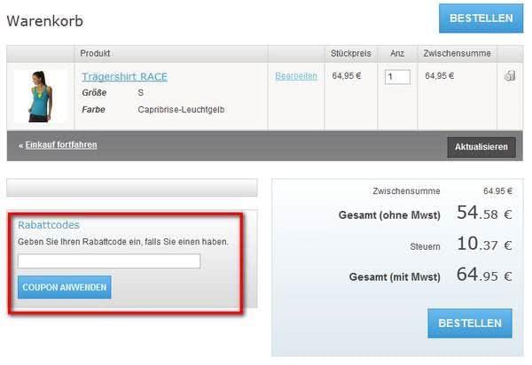 Sonderangebote bei ODLO.de
