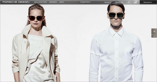 Sonnenbrillen von Porsche-Design für modebewusste Menschen