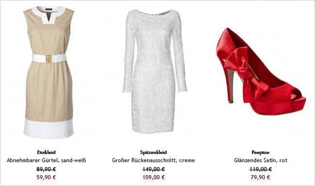 Im SALE-Bereich von APART findet ihr viele Modeschnäppchen