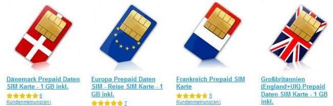 Simlystore.com bietet eine große Auswahl von Prepaid-SIM-Karten