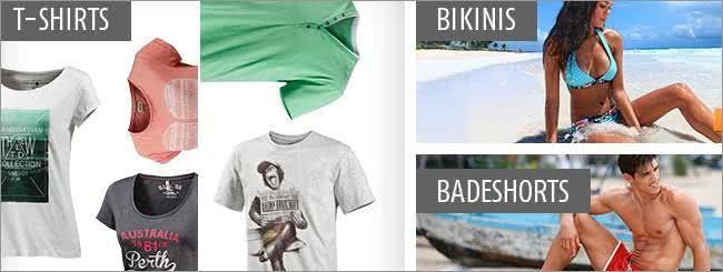 Bekleidung aus dem Online-Shop von SportScheck