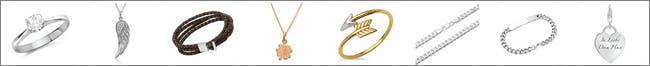 Verschiedenste Schmuckstücke findest du in der großen Auswahl von The Jeweller