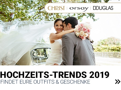 Hochzeits-Trends 2019
