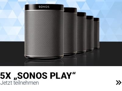 Sonos Lautsprecher zu gewinnen