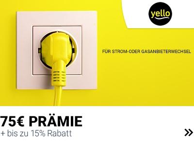 Yello: Strom/Gas wechseln