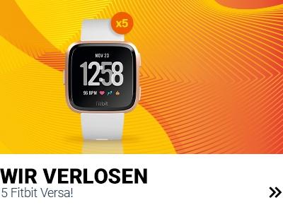 Fitbit Versa zu gewinnen