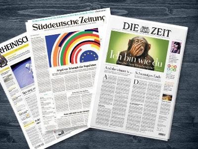 Tageszeitungen GRATIS und versandkostenfrei!