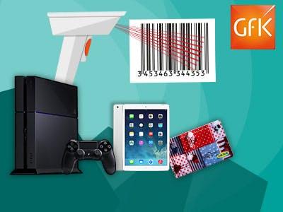 Einkäufe scannen und Prämien verdienen bei GfK