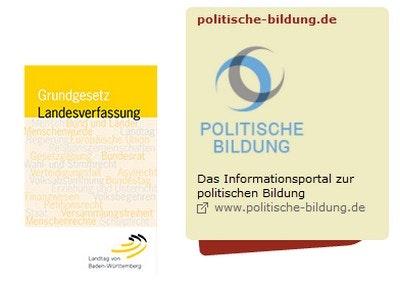 Kleine Ausgabe des Grundgesetzes Deutschland