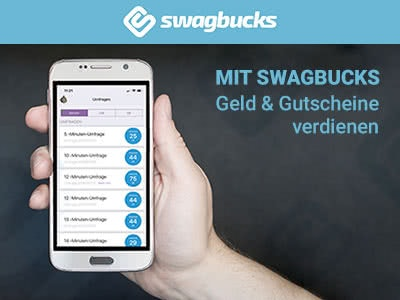 Mit Swagbucks ganz einfach kostenlose Gutscheine sichern