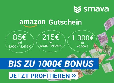 36a9805d4bfbbb Bis zu 1000€ Bonus bei Smava