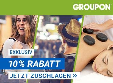 10% Rabatt bei Groupon
