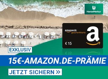 15€-Prämie zur Reiseversicherung