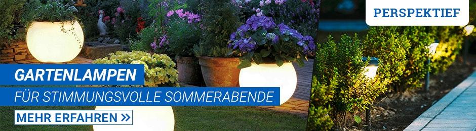 Gartenlampen - macht es gemütlich!