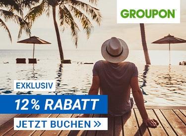 12% Rabatt bei Groupon