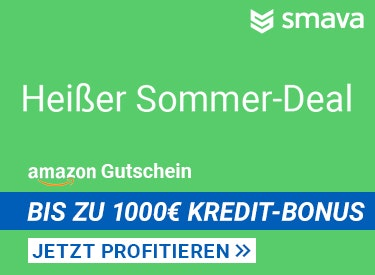 Bis zu 1.000€ Kredit-Bonus