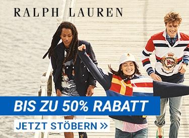 Bis zu 50% Rabatt bei Ralph Lauren