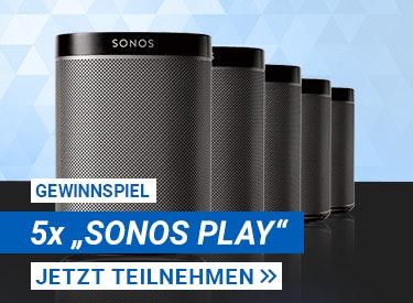 Gewinne SONOS PLAY Lautsprecher!