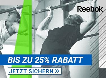Bis zu 25% Rabatt bei Reebok