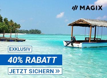 40% Rabatt bei Magix
